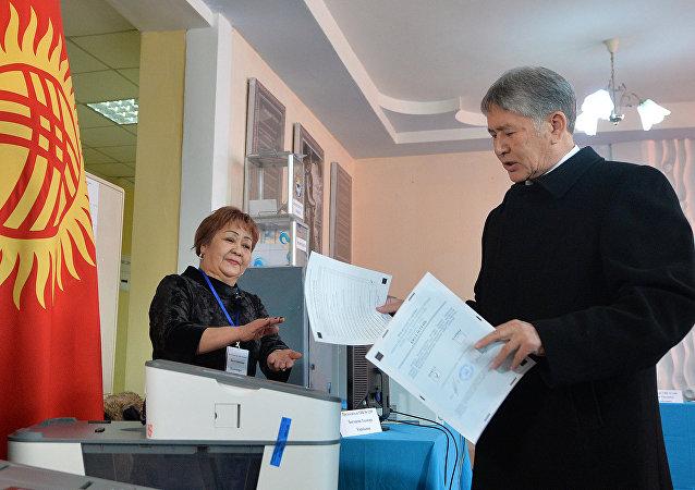 El referéndum constitucional de Kirguistán