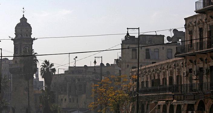 Ciudad siria de Alepo (archivo)