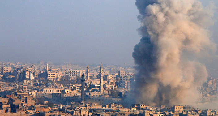 Ciudad siria de Alepo