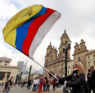 Manifestación en COlombia