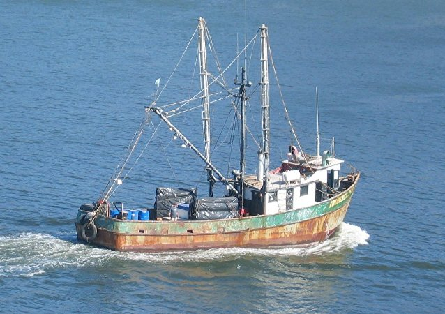 Un barco viejo en Mazatlán