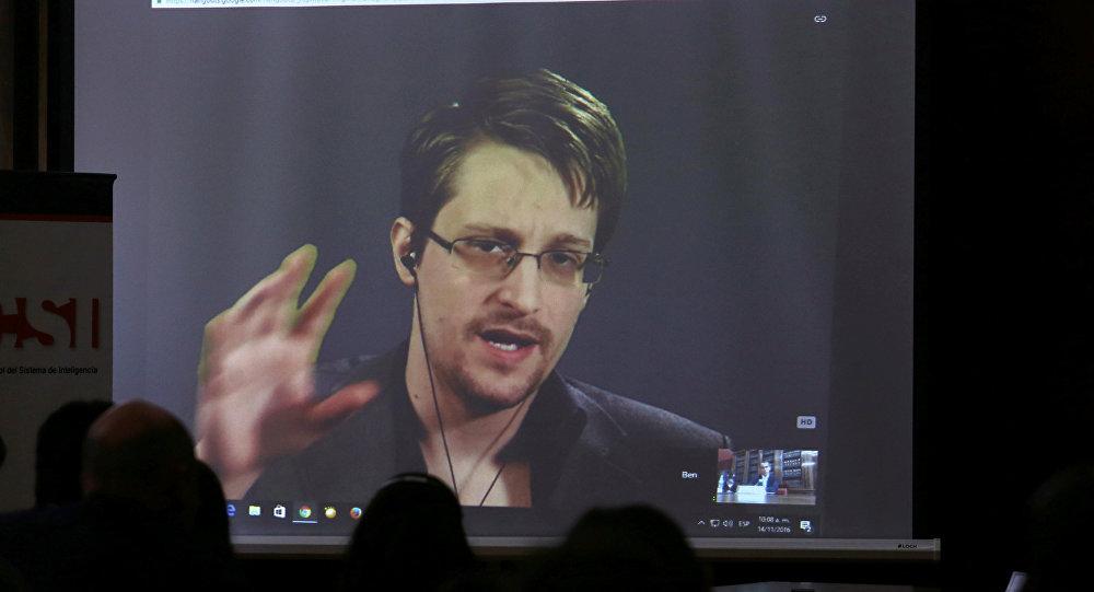 Edward Snowden, extécnico de la NSA (archivo)