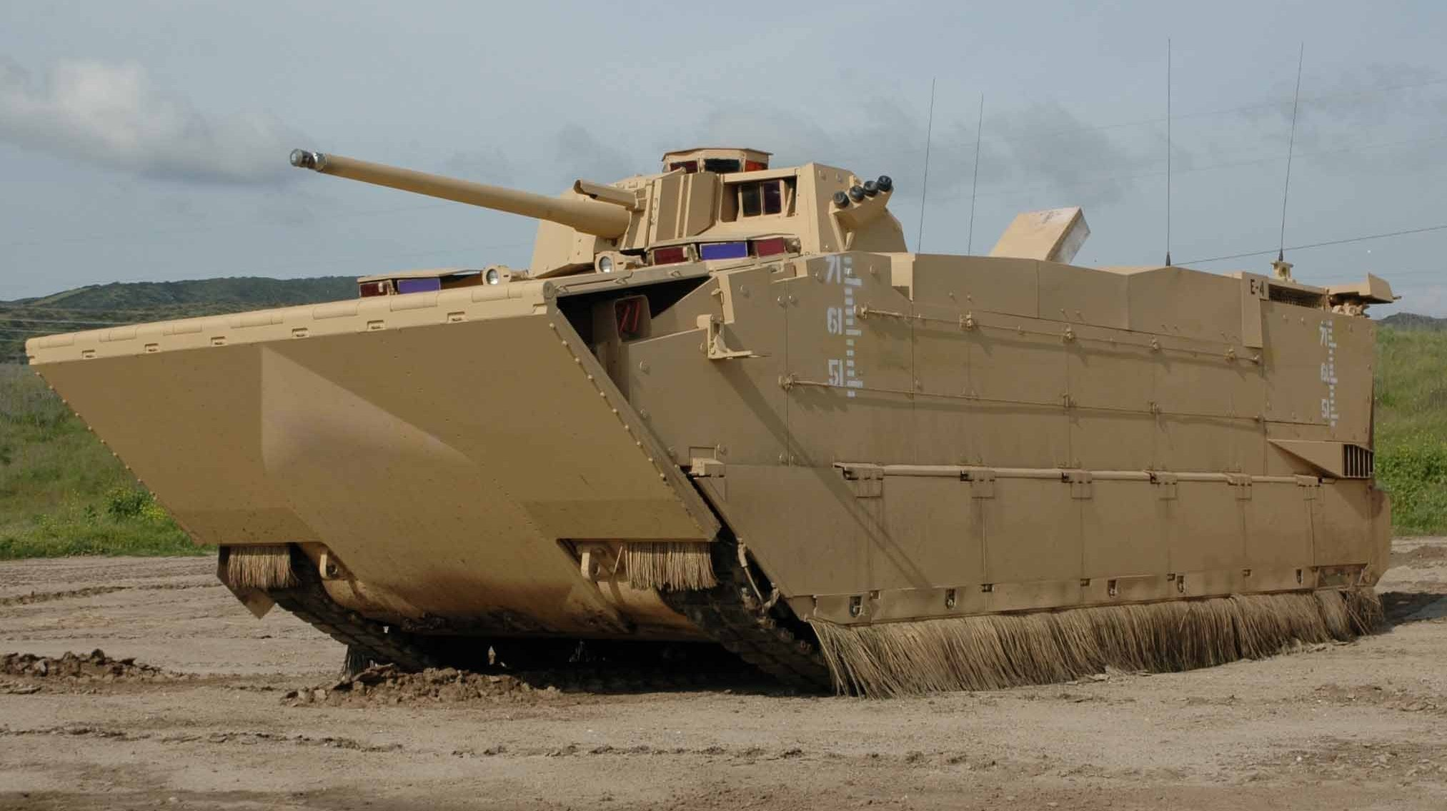 Vehículo anfibio 'Expeditionary Fighting Vehicle' (EFV)