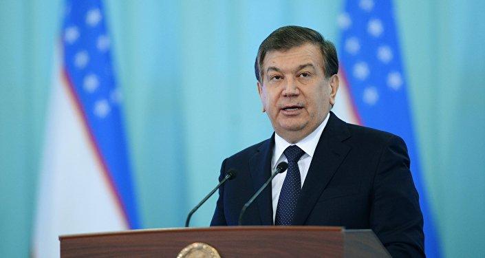 Shavkat Mirziyoyev, presidente de Uzbekistán