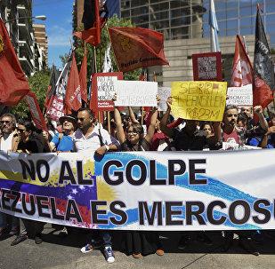 Marca contra suspensión de Venezuela como miembro pleno del Mercosur