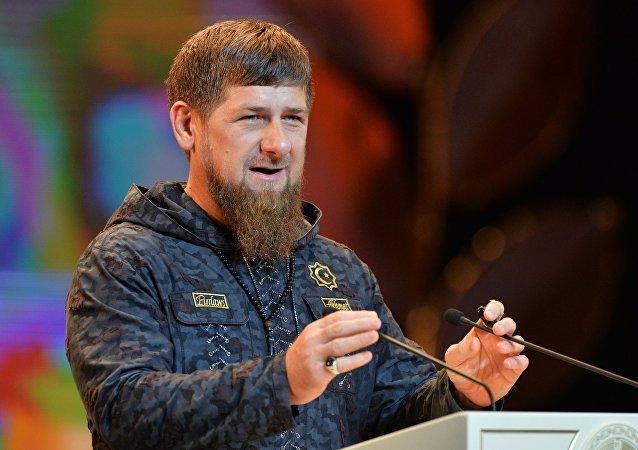 Ramzán Kadirov, dirigente de la República de Chechenia