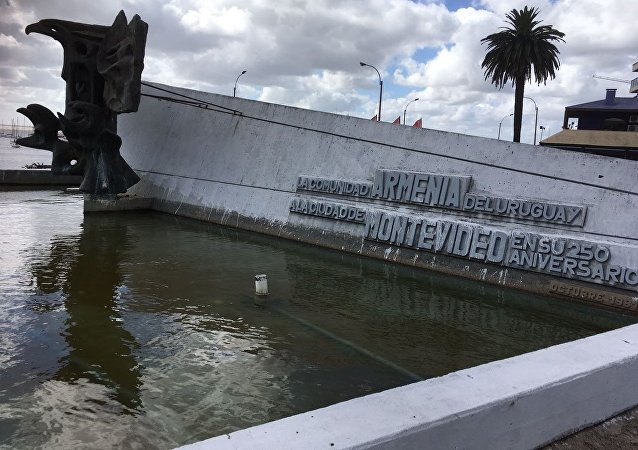 Plaza Armenia en Montevideo