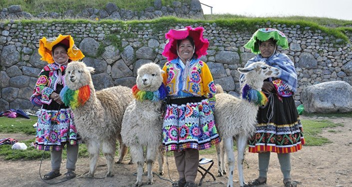Mujeres quechua en Perú