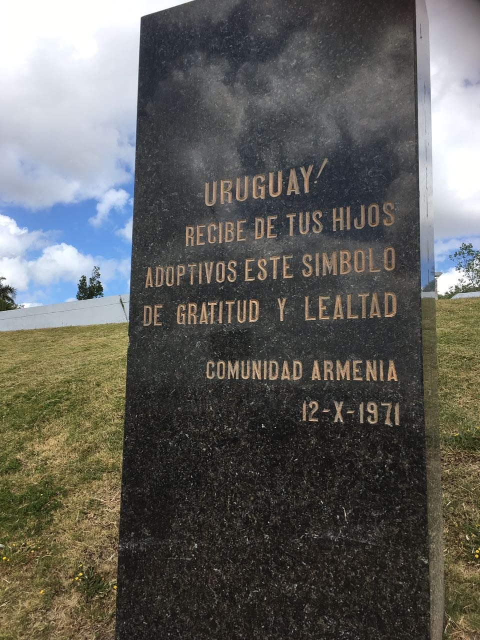 Plaza Armenia en Montevideo