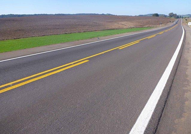 Una carretera (imagen referencial)