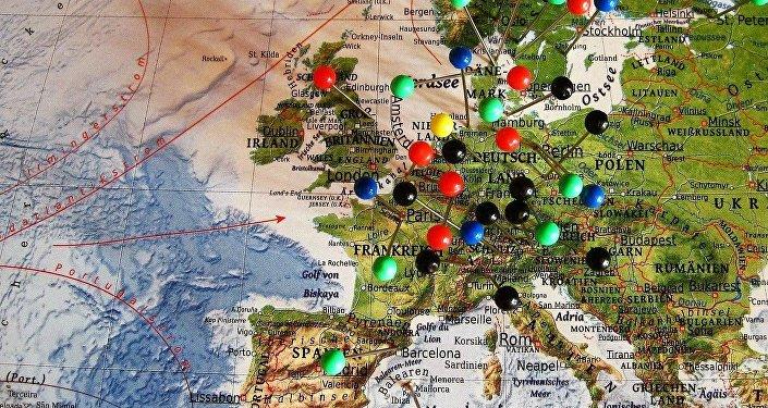 El mapa de Europa