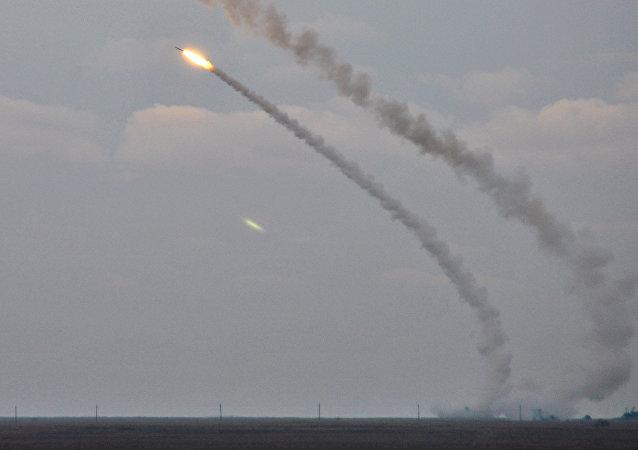 Lanzamiento de los misiles ucranianos cerca de Crimea (archivo)