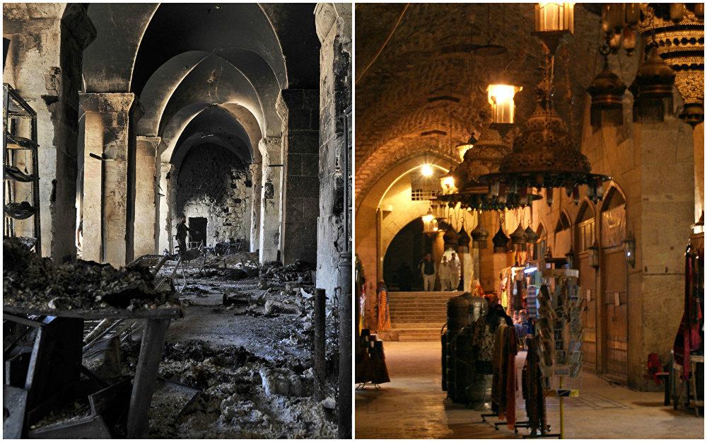 Las cicatrices de la guerra: Alepo, un antes y un después en la vida de la ciudad