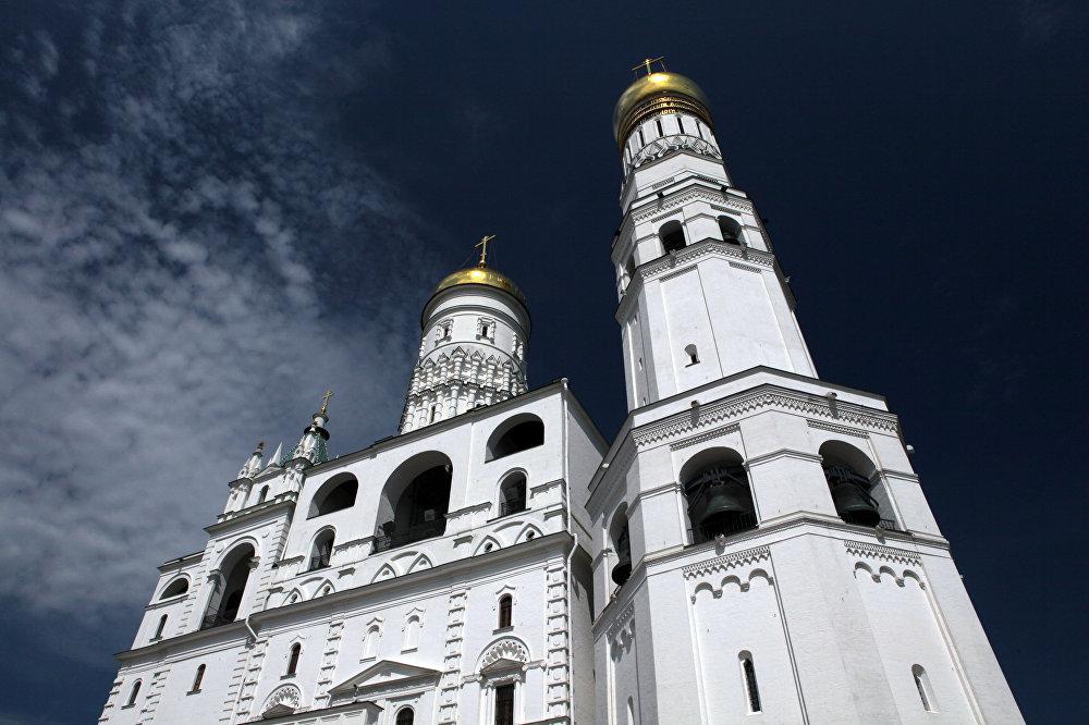 Campanario de Iván el Grande, en el Kremlin de Moscú