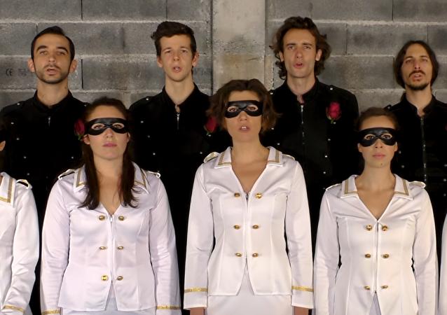 Vídeo: un grupo francés compone un 'himno para Donbás'