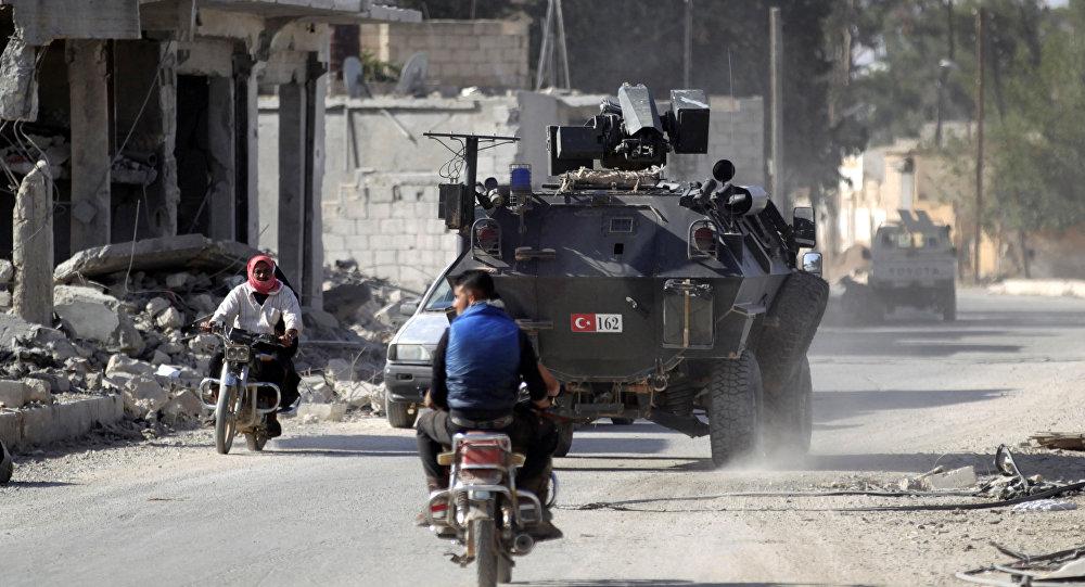 Las fuerzas turcas en Siria