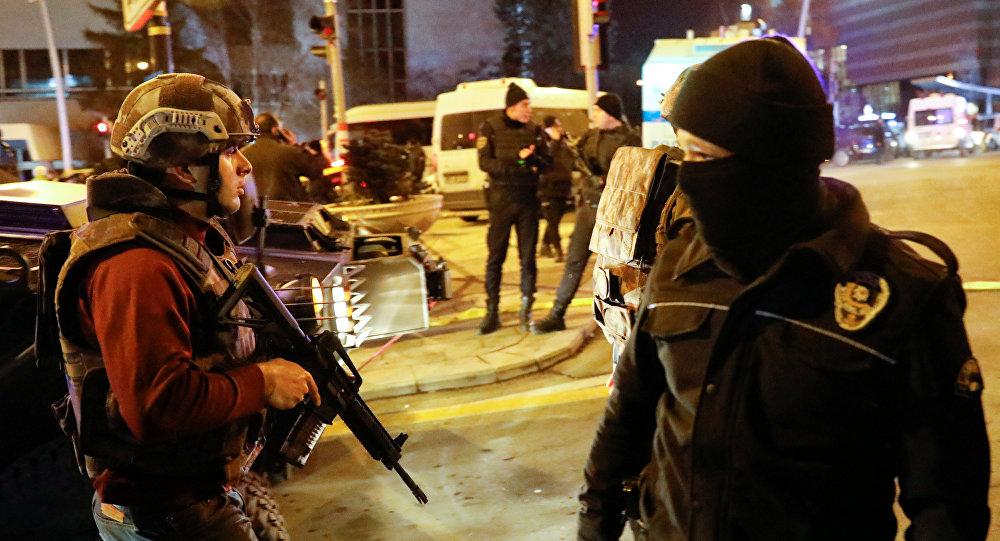 Policía turca