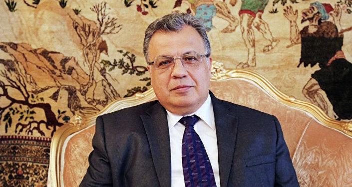 Andréi Kárlov, embajador de Rusia en Turquía