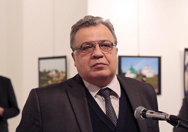 Andrei Kárlov antes del asesinato