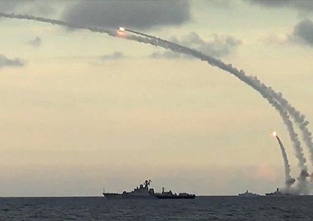 Lanzamiento de un misil de crucero (archivo)