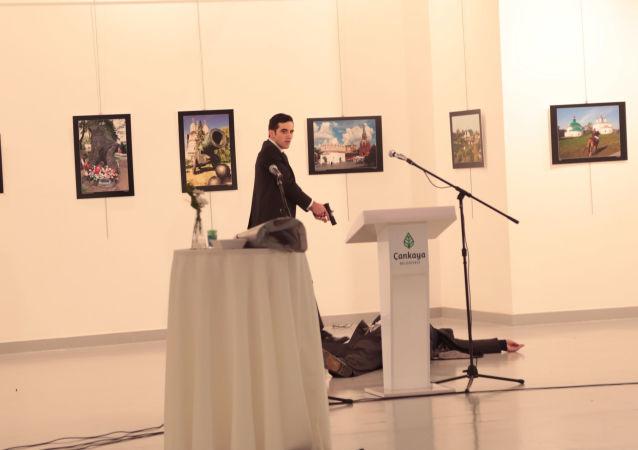 El asesinato de Andréi Kárlov, embajador ruso en Turquía