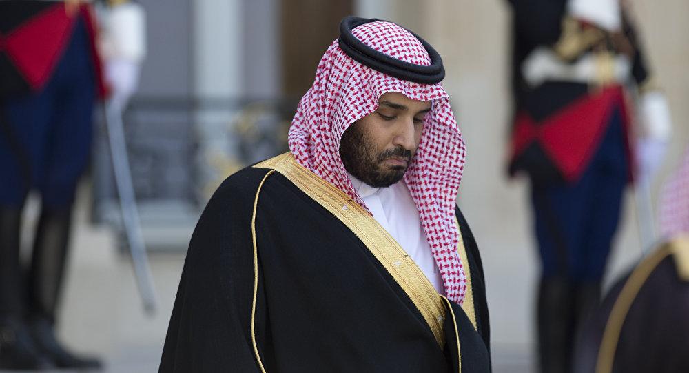 Ministro de Defensa saudí Príncipe Mohammed bin Salman bin Abdulaziz al-Saud