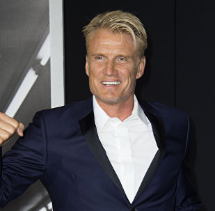 Actor Dolph Lundgren attends the Los Angeles World Premiere of New Line Cinema's and Metro-Goldwyn-Mayer Creed, in Westwood, California, on November 19, 2015.
