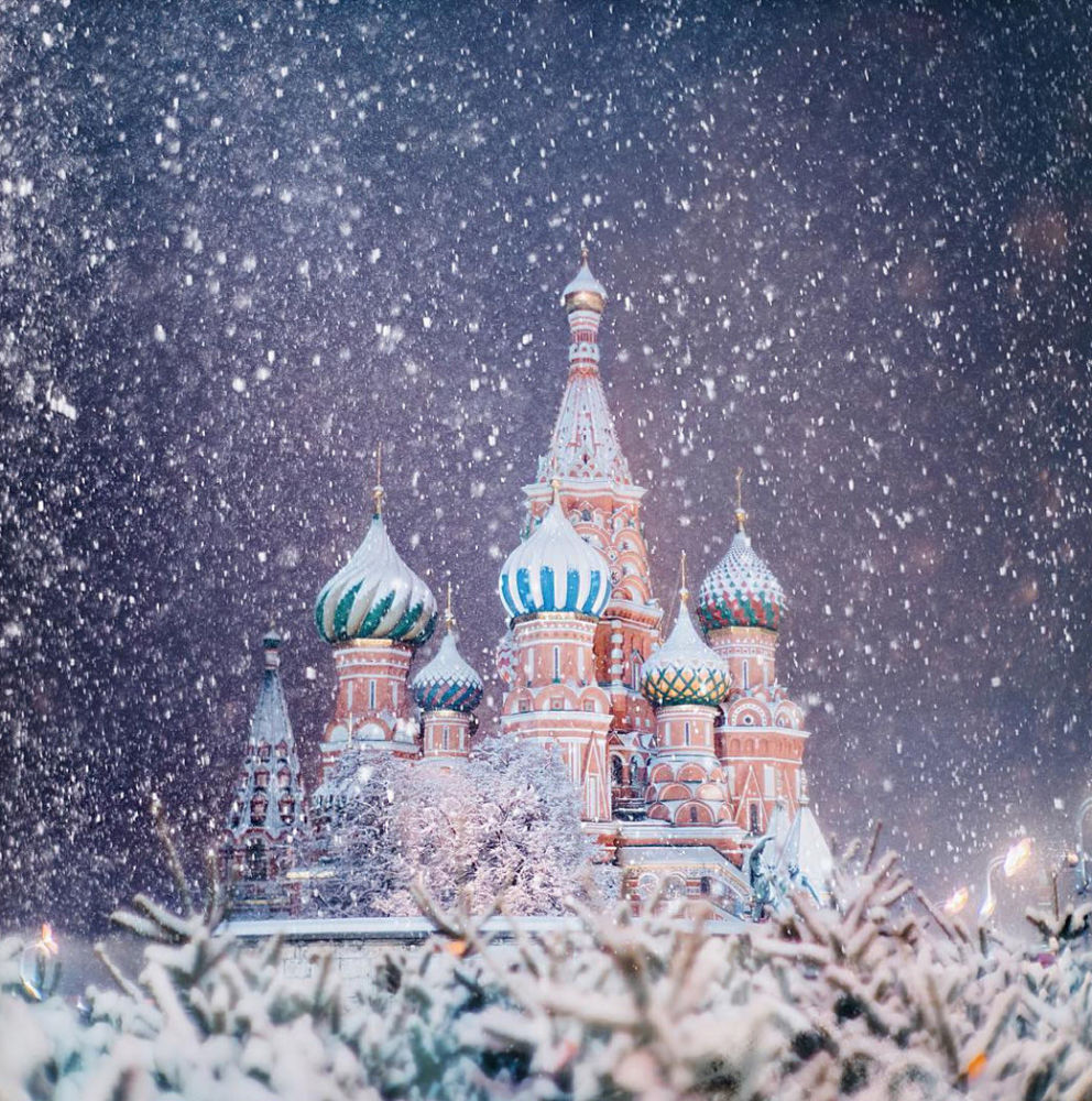 La magia de Moscú en navidades