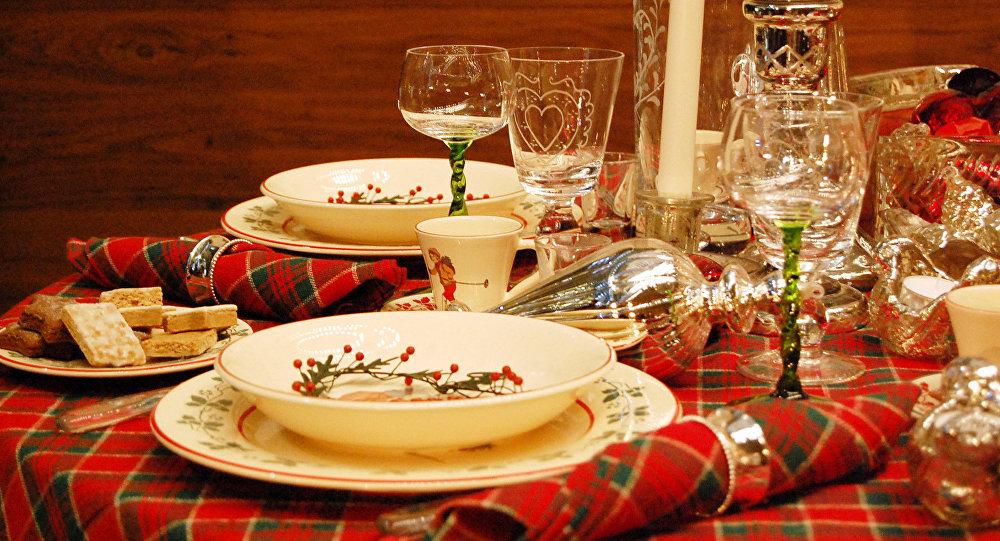 Cena para navidad chile