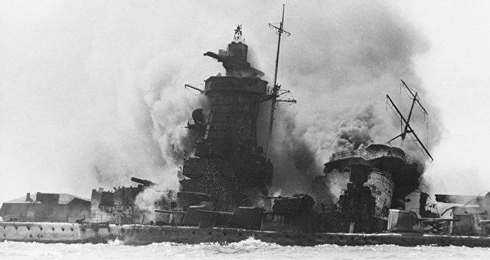 Hundimiento del acorazado de bolsillo Graf Spee