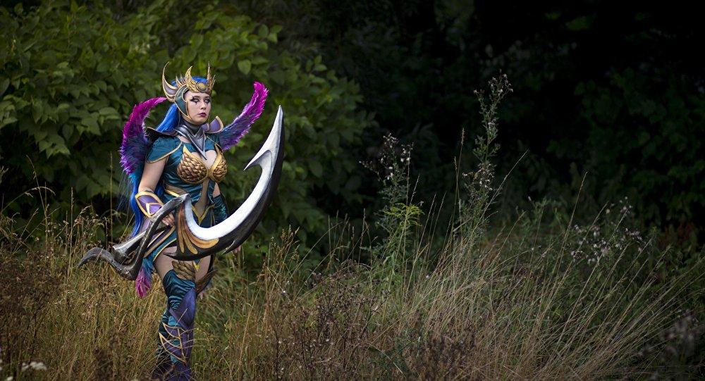Dark Valkyrie Diana, personaje de League of Legends
