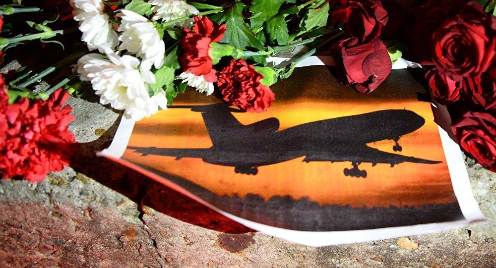 Homenaje a las víctimas del Tu-154 siniestrado
