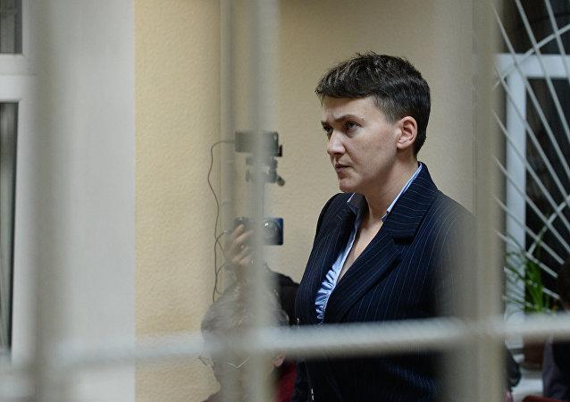 Nadezhda Sávchenko, diputada y militar ucraniana