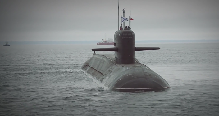 Submarino nuclear Podmoskovie