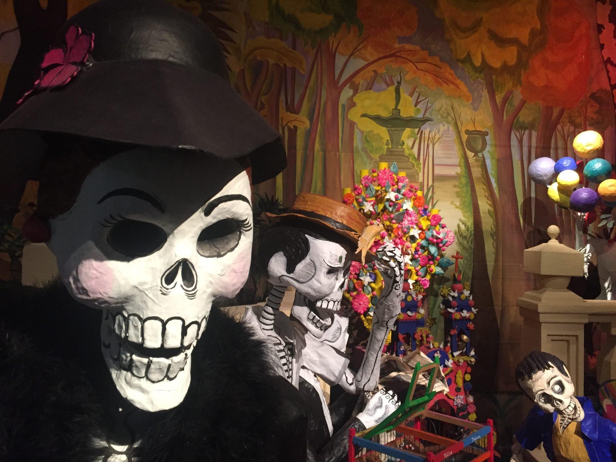 La exposición Ofrenda de Muertos en el Museo Dolores Olmedo