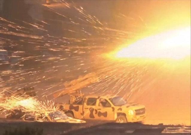 El Ejército sirio continúa la ofensiva en el oeste de Damasco