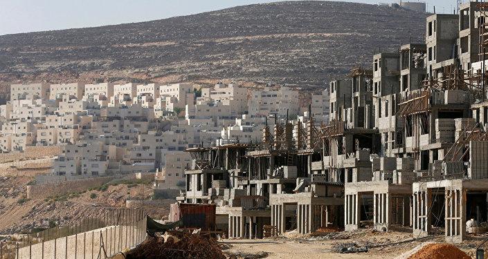 Construcción de viviendas para colonos judíos en Jerusalén