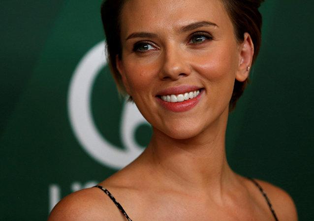 Scarlett Johansson, actriz estadounidense