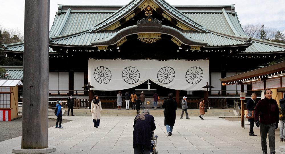El santuario de Yasukuni, Japón