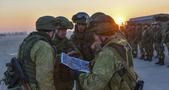 Soldados rusos en Siria (archivo)