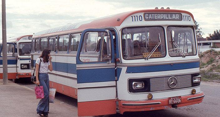 El autobús en Brasil