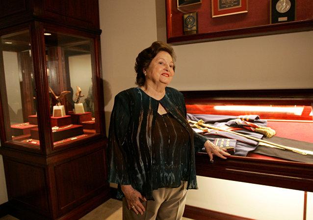 Lucía Hiriart, viuda del dictador chileno Augusto Pinochet (archivo)