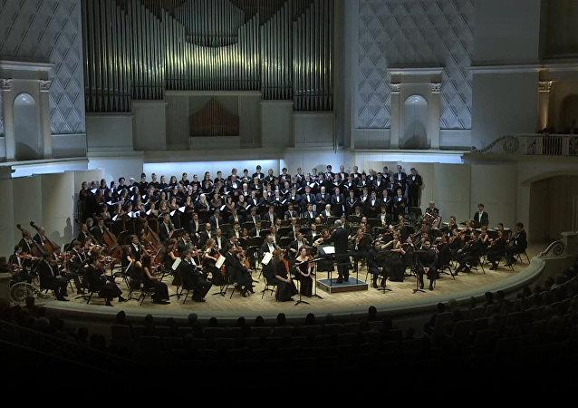 El Teatro Mariinski interpreta el 'Réquiem' de Verdi en memoria de los fallecidos en el Tu-154