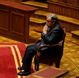 António Guterres, secretario general de la ONU