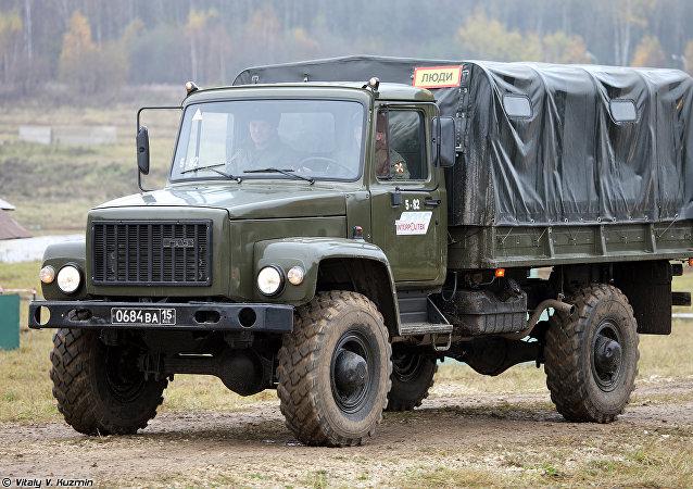 El GAZ-3308 'Sadko'