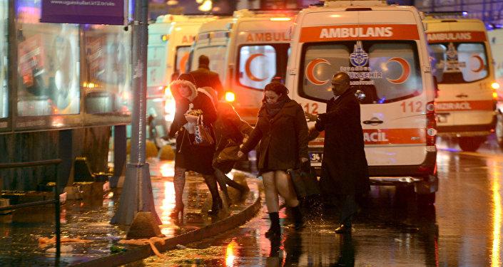 El ataque en el club nocturno Reina en Estambul