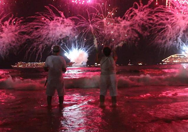 Cómo el Año Nuevo iluminó el mundo