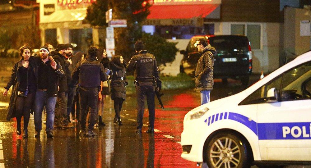 Policía en Estambul (imagen referencial)