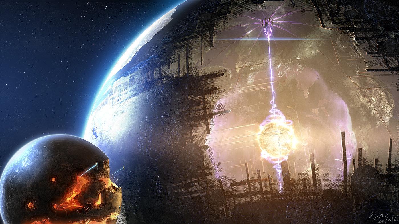 Captan una estructura artificial o un inmenso cometa orbitando una estrella 1065984644
