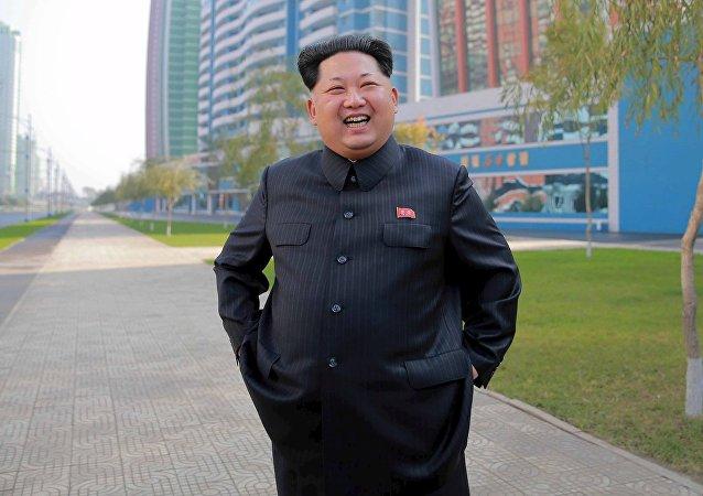 Kim Jong-un, líder norcoreanoentists Street